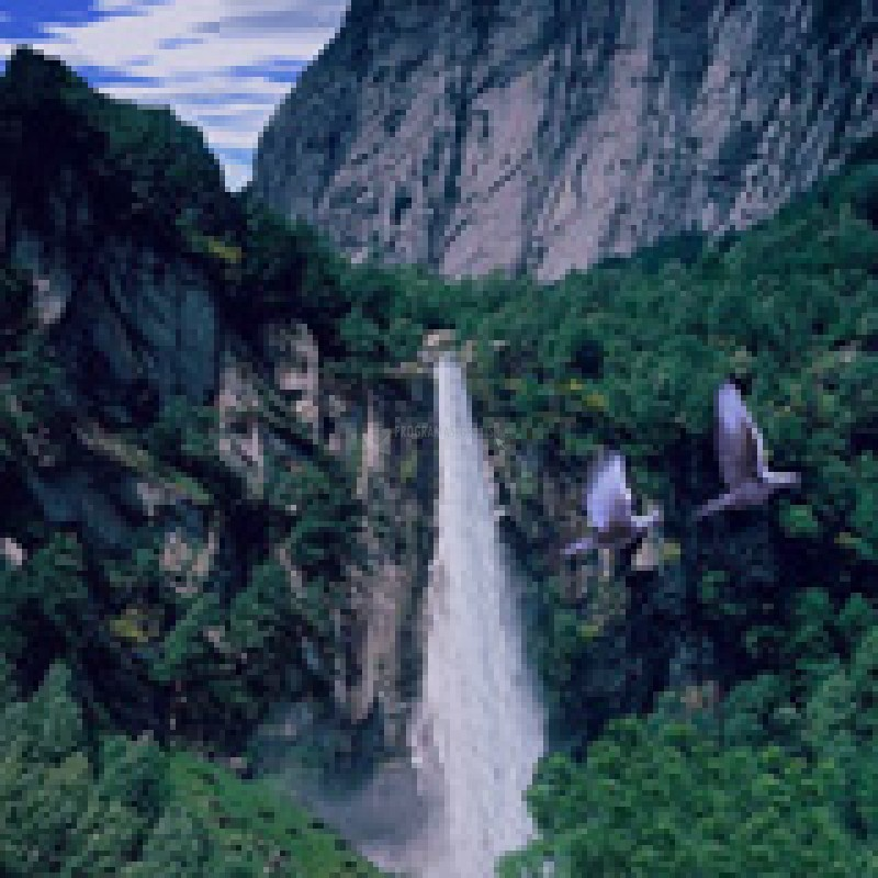 Pantallazo 3D Mountain Waterfall