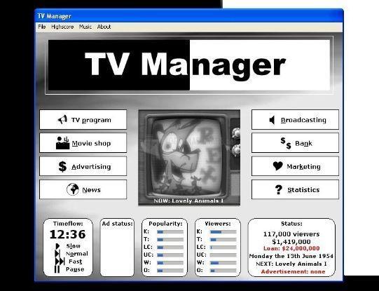Pantallazo TV Manager