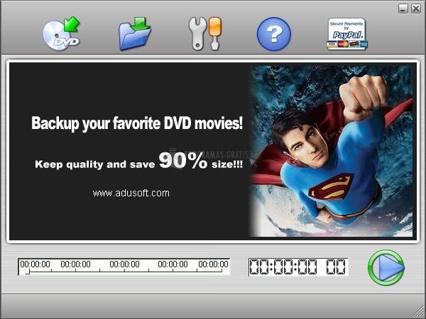 Pantallazo Adusoft DVD Ripper