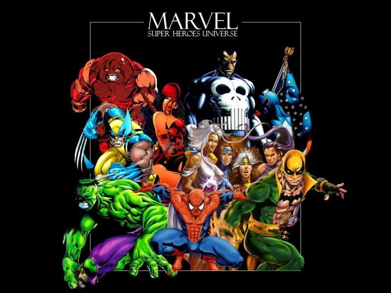 Pantallazo Super Heroes Marvel