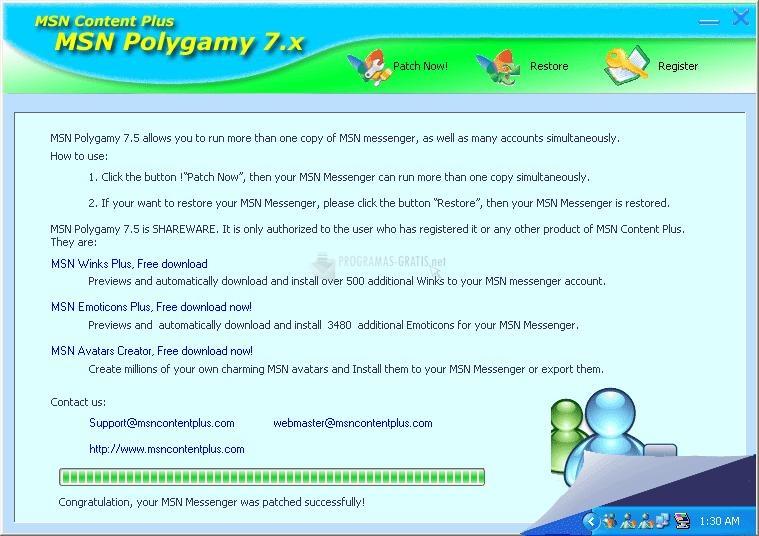 Pantallazo Polygamy