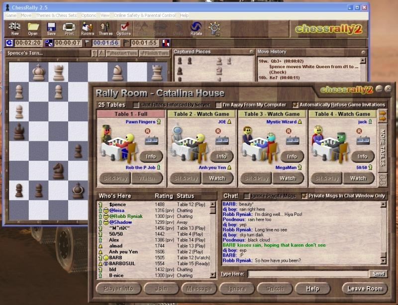 Pantallazo ChessRally