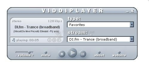 Pantallazo Viddi Player