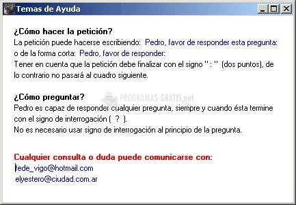 Pedro responde for android apk download.