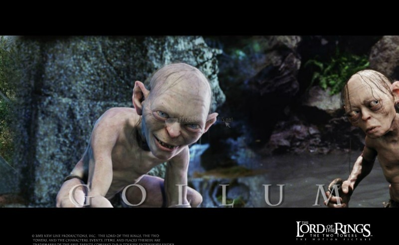 Pantallazo The Lord of the Rings: Gollum SSaver