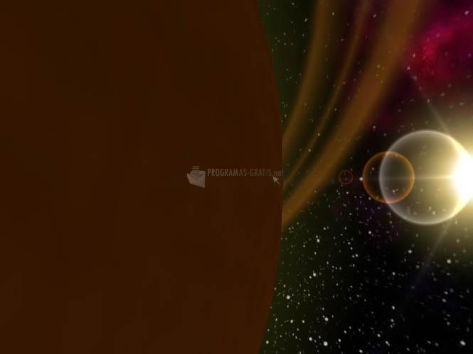 Fotograma 3D Solar Traveler Screensaver