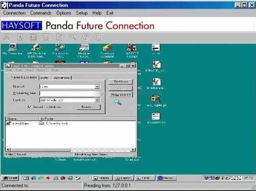 Pantallazo Panda Future Connection