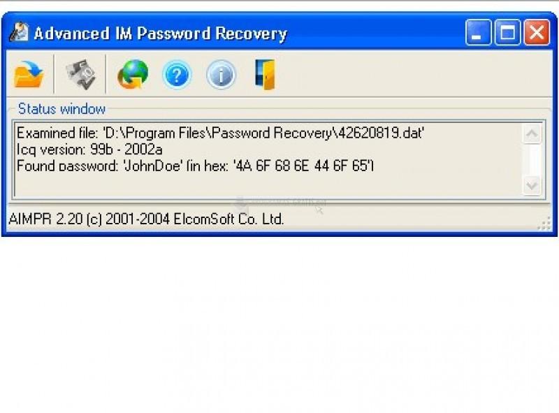 Foto Advanced IM Password Recovery