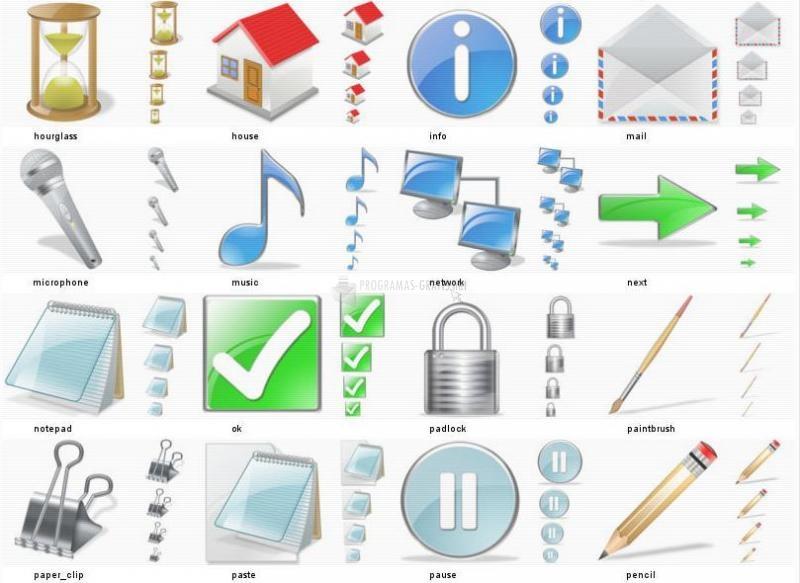 Pantallazo Free Vista Icons