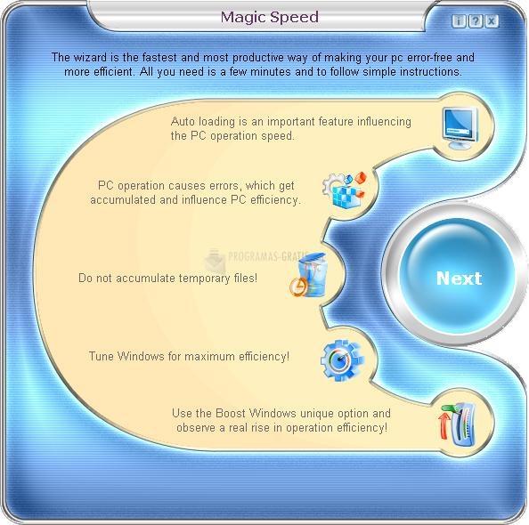 Pantallazo Magic Speed