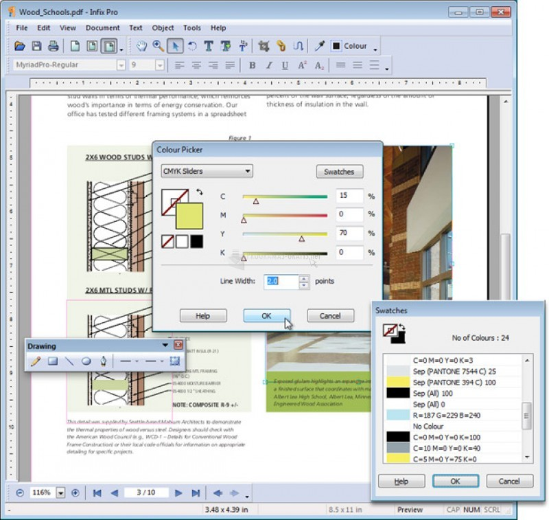Pantallazo Infix PDF Editor