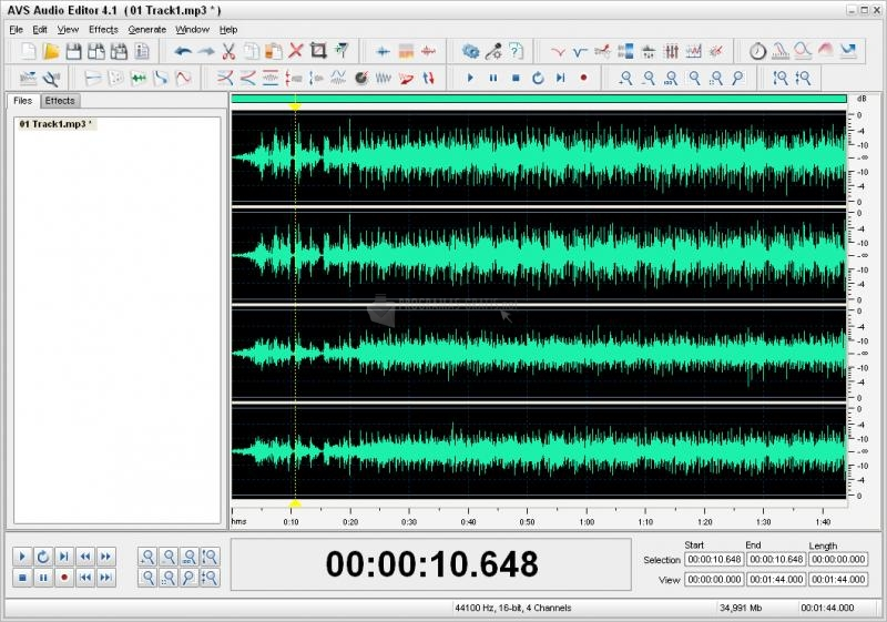 216c4e04 ⌨ Descargar AVS Audio Editor 7.1.5.479 Gratis para Windows