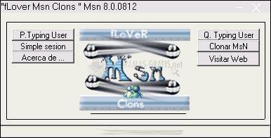 Pantallazo fLover MSN Clons