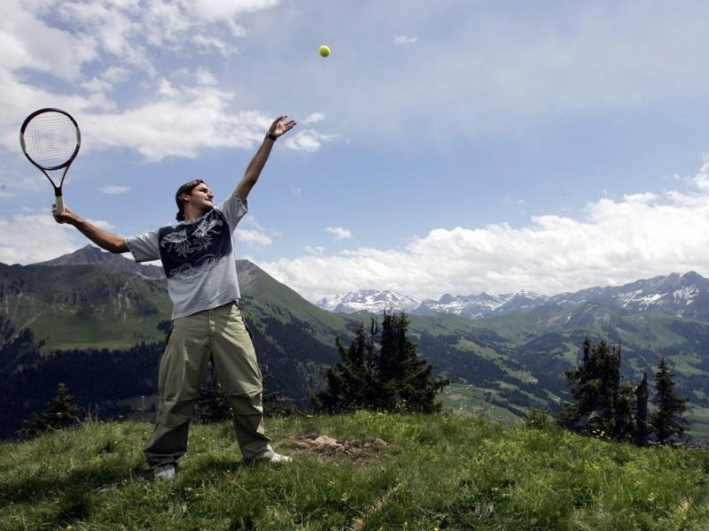 Pantallazo Roger Federer