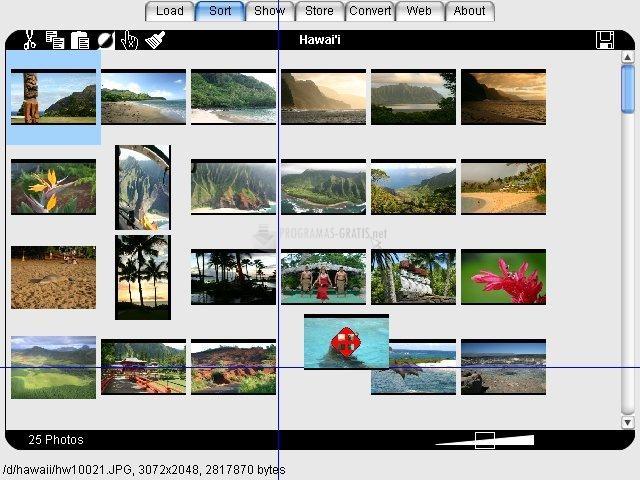 Pantallazo Photo ReViewer