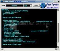 Pantallazo X-Fusions Domain Checker