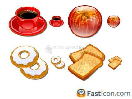 Pantallazo Coffee Break Icons