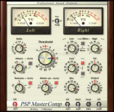 Pantallazo PSP Master Comp