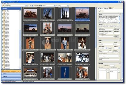 Pantallazo Digital Photo Cataloger