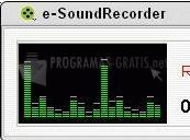 Pantallazo e-SoundRecorder