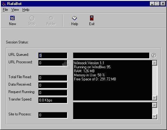 Pantallazo RafaBot Downloader