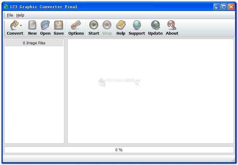 Pantallazo 123 Graphic Converter XP