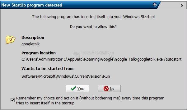 Pantallazo Innovative Startup Firewall