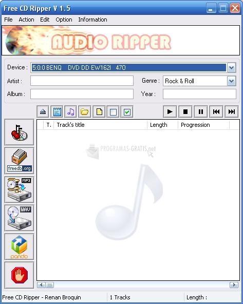 descargar free cd ripper 1.9