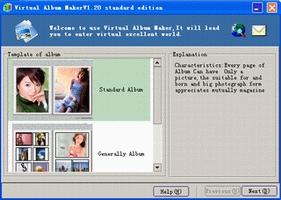 Pantallazo Virtual Album Maker
