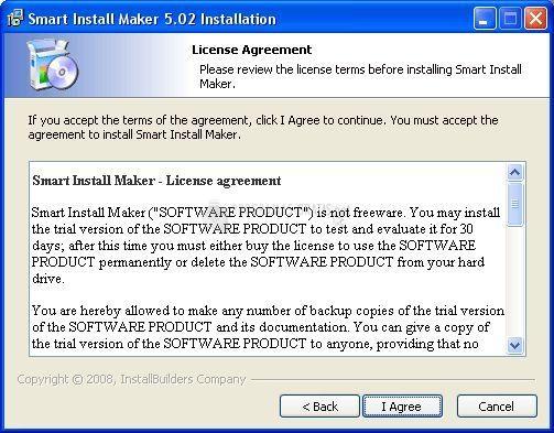Pantallazo Smart Install Maker