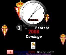 Pantallazo Salvapantallas Reloj Calendario
