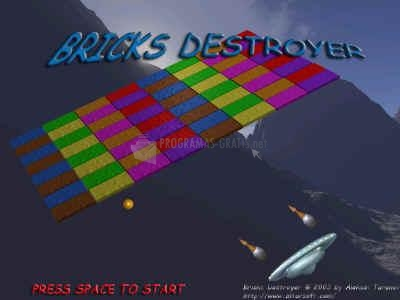 Pantallazo Bricks Destroyer