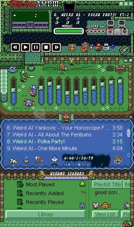 Pantallazo Zelda Amp