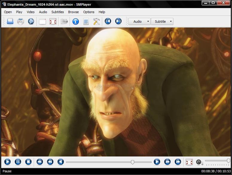 Pantallazo MPlayer for Windows