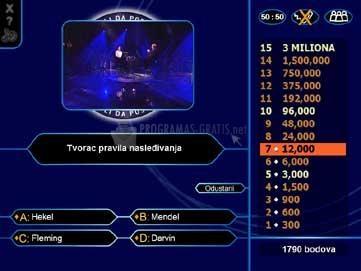 Pantallazo Millionaire