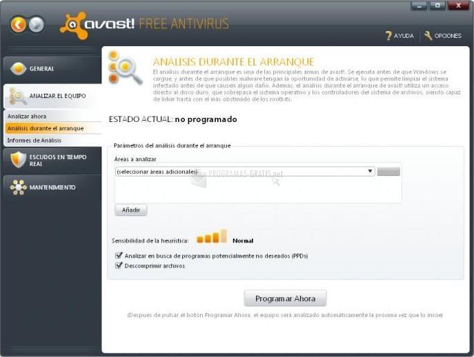 Fotograma Avast! Free Antivirus