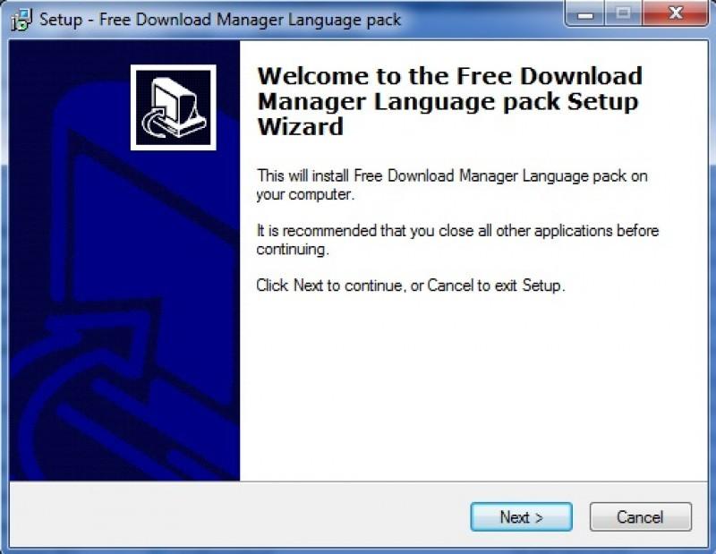 Pantallazo Pack traducciones Free Download Manager