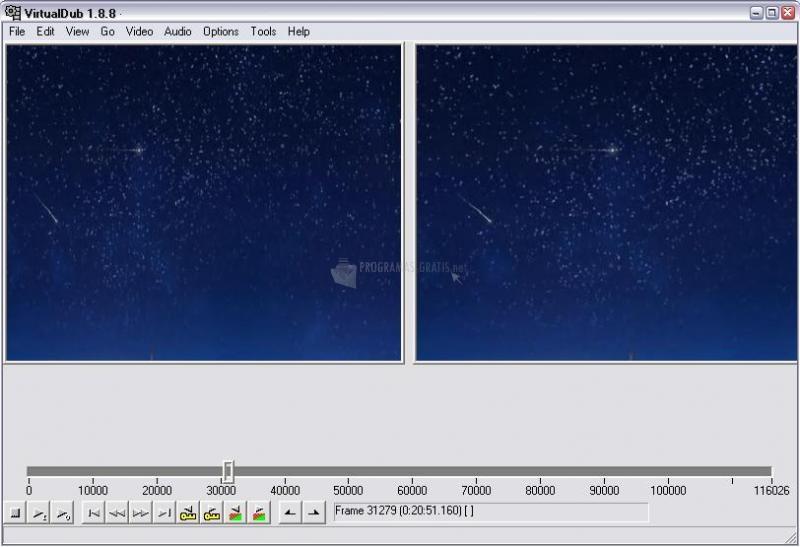 Pantallazo VirtualDub 64 bits