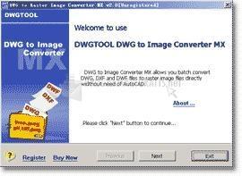 Pantallazo DWG to Image Converter MX