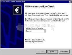 Pantallazo EuroCheck
