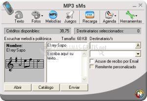 Pantallazo MP3 sMs