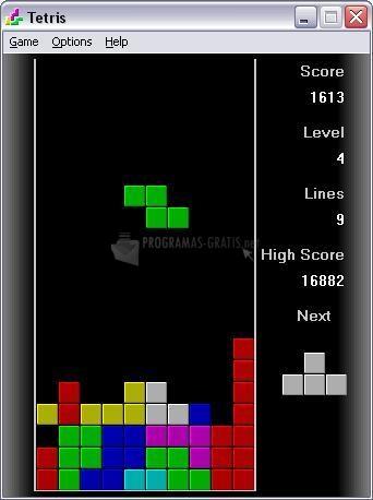 Pantallazo Tetris