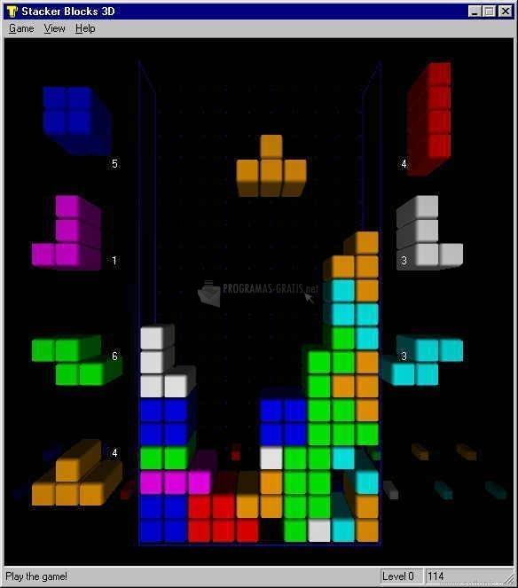 Pantallazo Stacker Blocks 3D