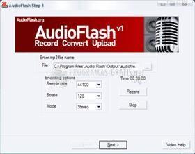Pantallazo AudioFlash
