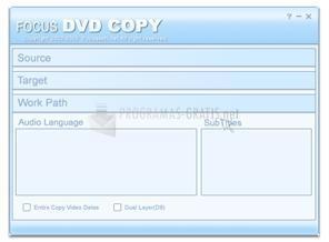 Pantallazo Focus DVD Copy