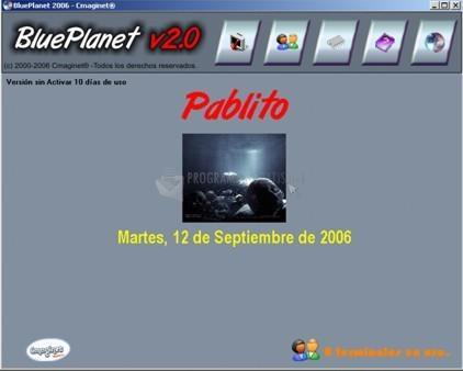 Pantallazo BluePlanet 2006