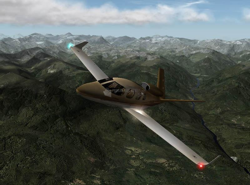 Pantallazo X-Plane