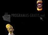 Pantallazo Homer Simpson Screen Saver