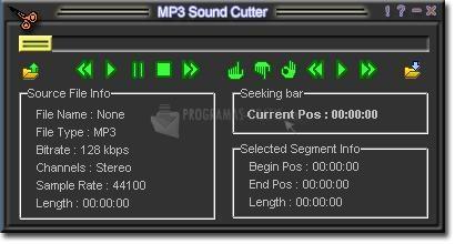 Pantallazo Power MP3 Cutter