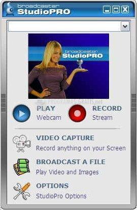 Pantallazo Broadcaster StudioPro